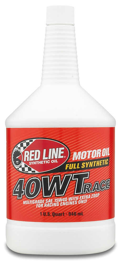 Image of Red Line 40WT Synthetic Racing Oil (1 Qt.)