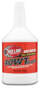 Red Line 40WT Synthetic Racing Oil (1 Qt.)