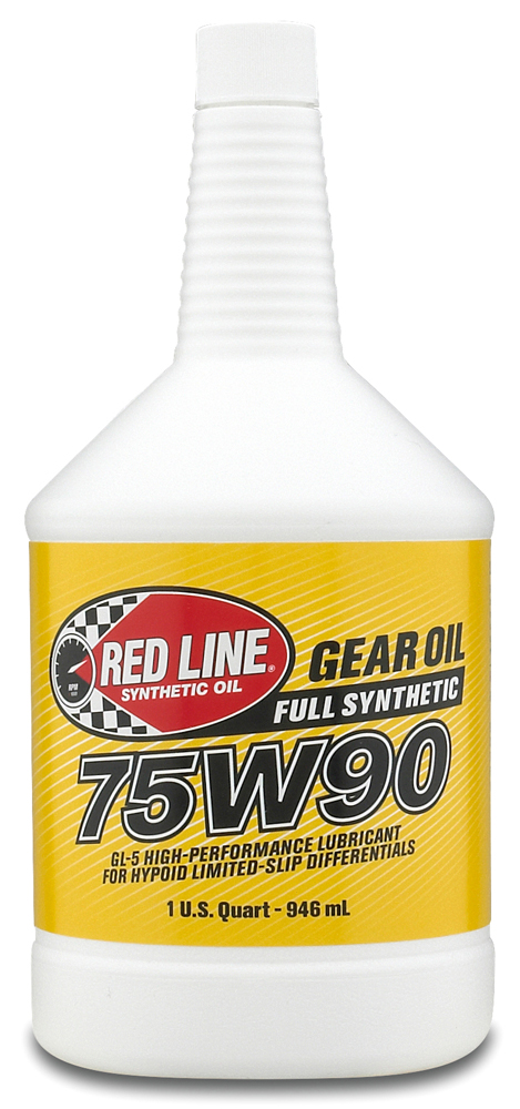 Image of Red Line 75W90 Synthetic Gear Oil (1 Qt.)