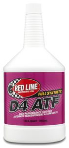 Red Line D4 Synthetic Automatic Transmission Fluid (1 Qt.)