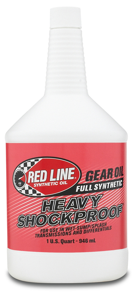 The Red  Line Heavy ShockProof Gear Oil is a unique lubricant containing a suspension of  solid microscopic...