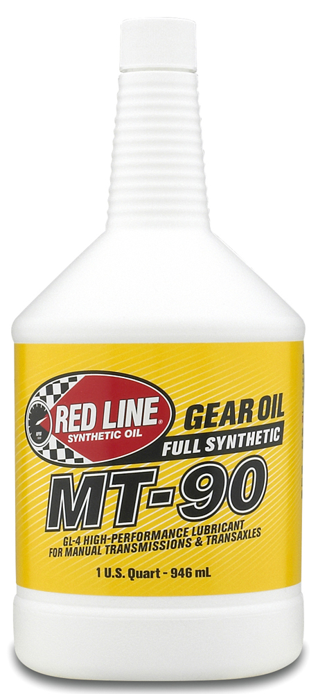 Image of Red Line MT-90 75W90 Synthetic Manual Transmission Oil (1 Qt.)