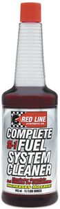 Red Line SI-1 Complete Fuel System Cleaner (15 oz.)