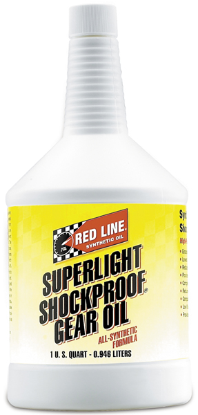 Image of Red Line Super Light Shockproof Gear Oil (1 Qt.)