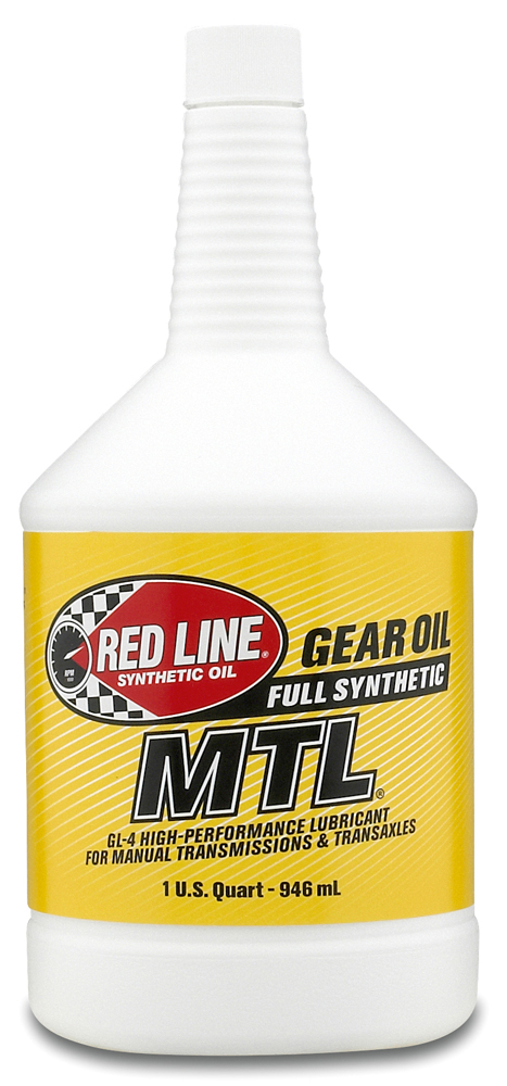 Image of Red Line Synthetic 70W80 Manual Transmission Oil (1 Qt.)
