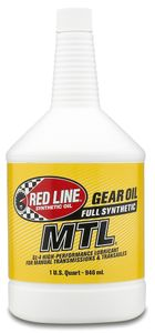 Red Line Synthetic 70W80 Manual Transmission Oil (1 Qt.)