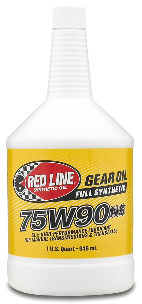 Image of Red Line Synthetic 75W90 Non-Slip Manual Transmission Oil (1 Qt.)