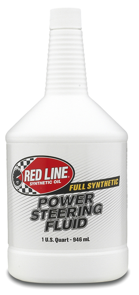 Image of Red Line Synthetic Power Steering Fluid (1 Qt.)