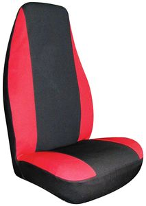 Red Neoprene Universal Bucket Seat Cover