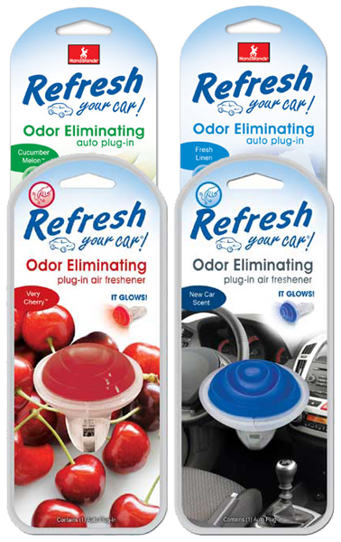 Image of Refresh Odor Eliminating Glowing Air Fresheners