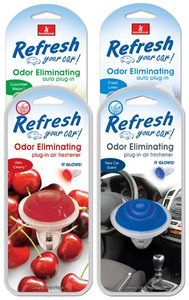 Refresh Odor Eliminating Glowing Air Fresheners