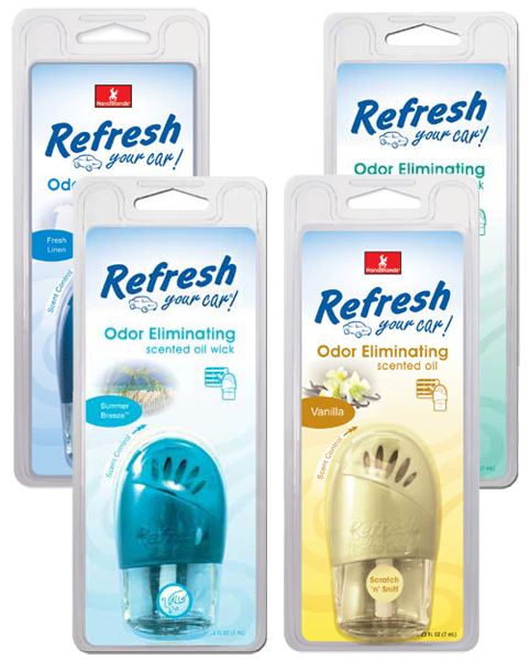Image of Refresh Odor Eliminating Oil Scented Oil Wick Air Fresheners