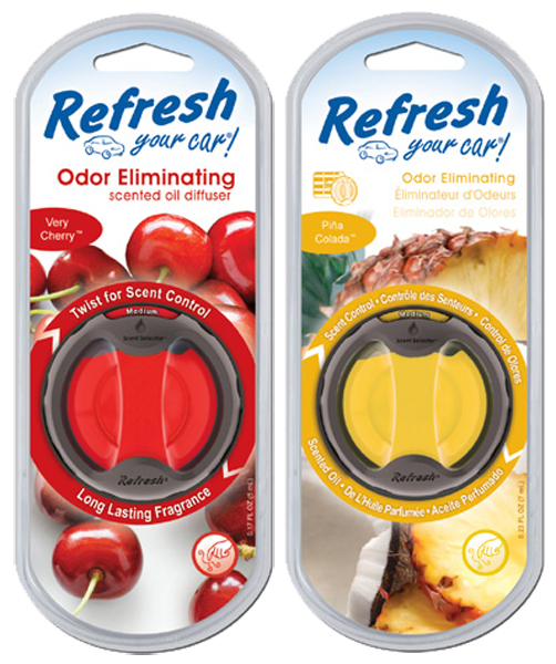 Image of Refresh Odor Eliminating Scented Oil Diffuser Air Fresheners