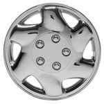 """Regent 15"""" Chrome Plated Wheel Covers (Set of 4)"""