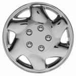 "Regent 15"" Chrome Plated Wheel Covers (Set of 4)"