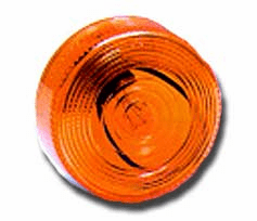 Round All Plastic Clearance Light