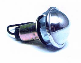 Round Snap-In License/Utility Light