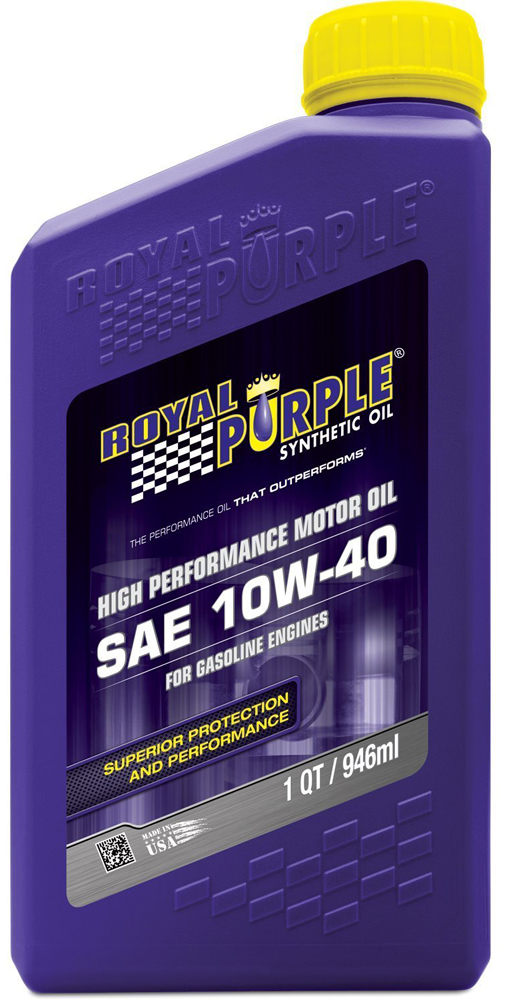Image of Royal Purple 10W40 Motor Oil (1 Qt.)