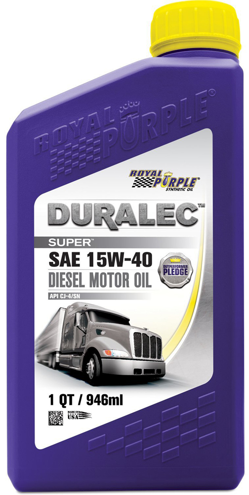 Image of Royal Purple Duralec 15W40 Diesel Motor Oil (1 Qt.)