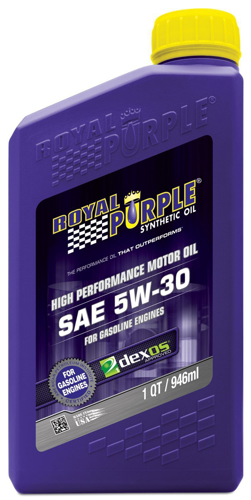 Image of Royal Purple 5W30 Motor Oil (1 Qt.)