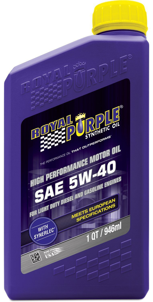 Image of Royal Purple 5W40 Motor Oil (1 Qt.)