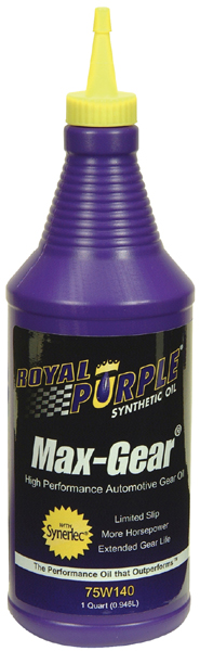 Image of Royal Purple 75W140 Max-Gear Oil