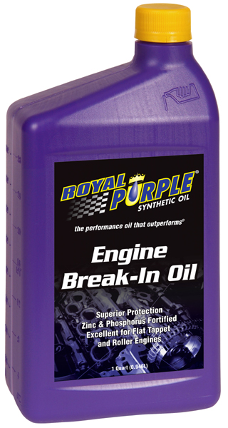 Image of Royal Purple Engine Break-In Oil (1 Qt.)