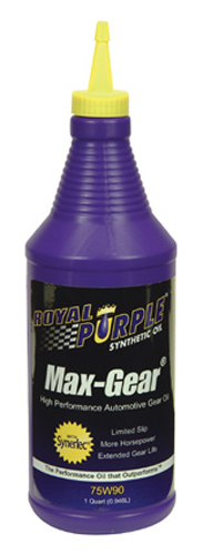 Image of Royal Purple Max Gear Synthetic Gear Oil 75W90
