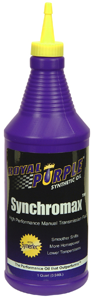 Image of Royal Purple Synchromax Manual Transmission Fluid