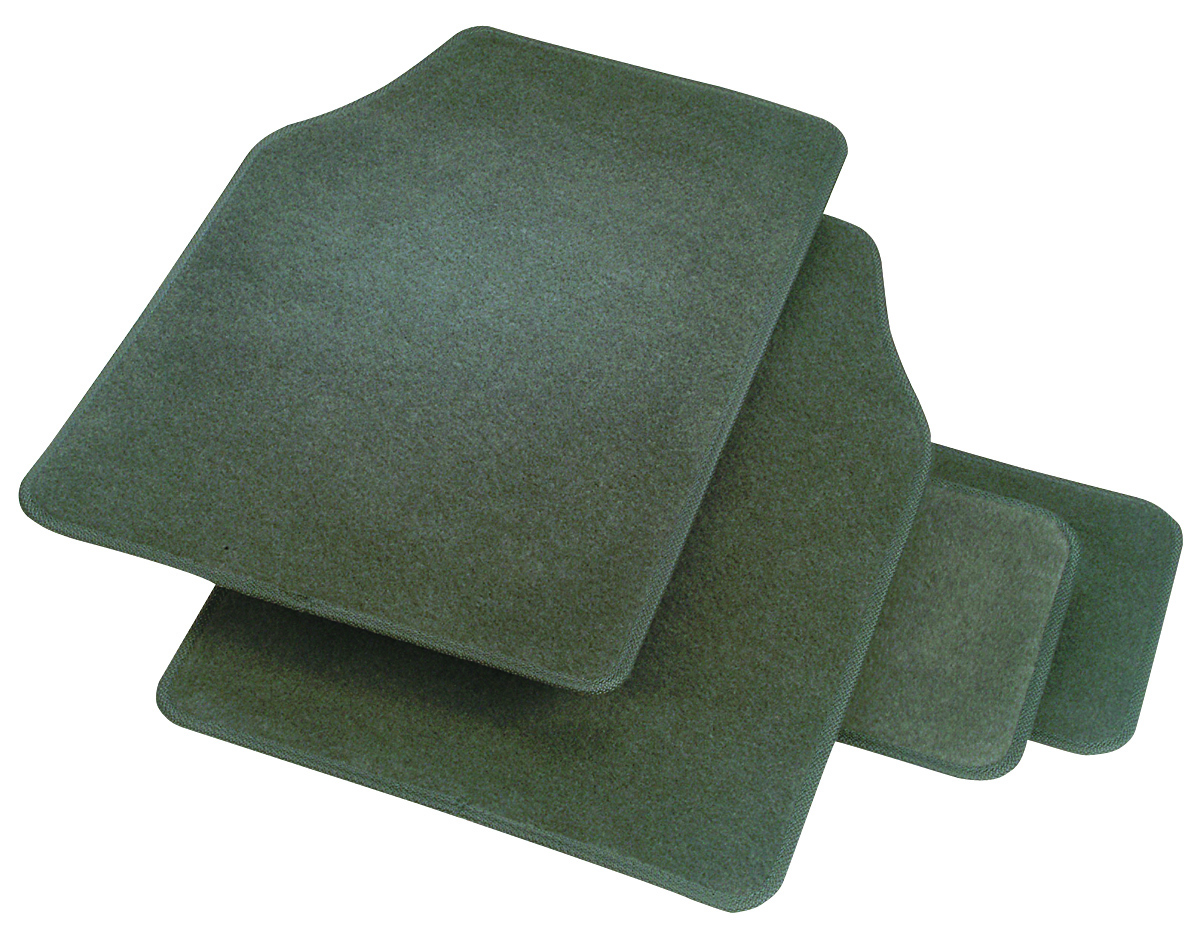 Image of Rubber Queen Carpeted 4-Piece Mat Set