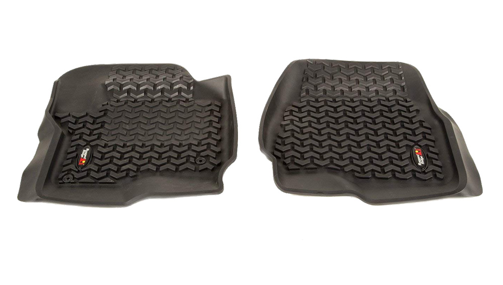 Ford F250 All Terrain Front Floor Liners - Pair (2017-2018)