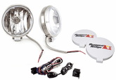 "Rugged Ridge 6"" Slim Round 100 Watt Stainless Steel Fog Lamps Kit (Pair)"