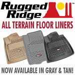 Rugged Ridge Cargo & Floor Liners