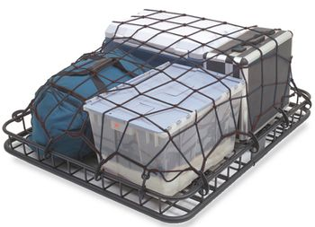 Rugged Ridge Roof Rack Cargo Stretch Net