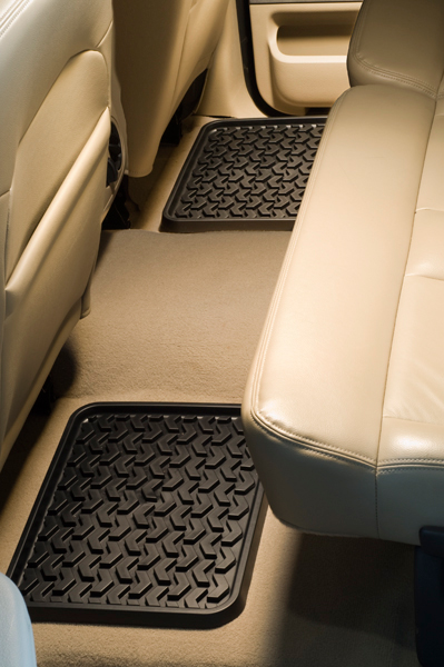 Rugged Ridge Universal Rear All Terrain Floor Liners-Pair (1999-2018)