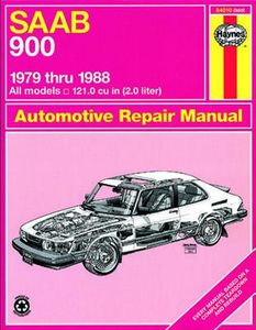 SAAB 900 Haynes Repair Manual (1979-1988)