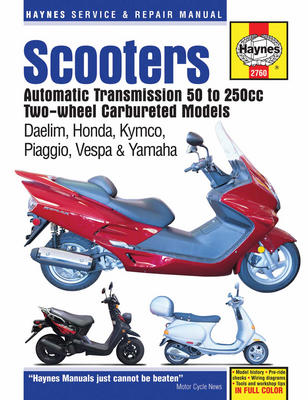 Scooters With Automatic Transmission (50cc - 250cc)
