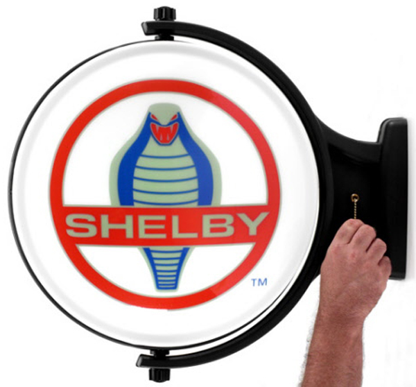 Image of Shelby Cobra Revolving Wall Light