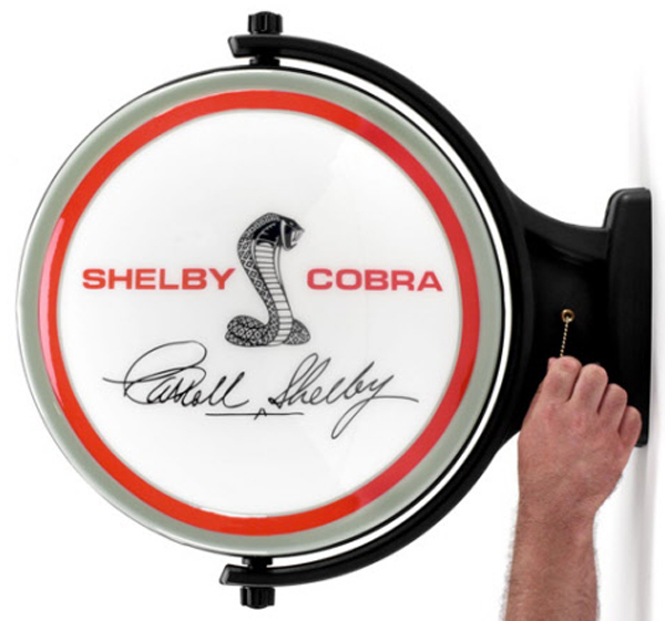 Image of Shelby Cobra Signature Revolving Wall Light