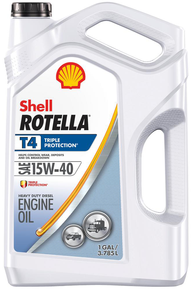 Image of Shell Rotella T4 15W40 Triple Protection Motor Oil (Gallon)