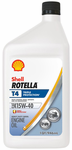 Shell Rotella T4 15W40 Triple Protection Engine Oil (Quart Size)