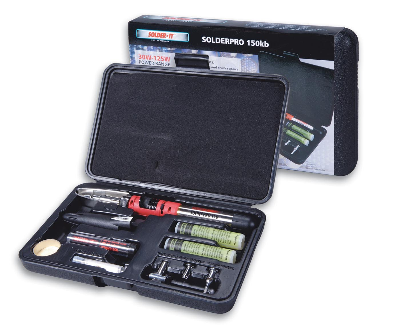Image of SOLDERPRO 150 Automatic Ignition System Soldering Iron / Torch Multifunction Tool