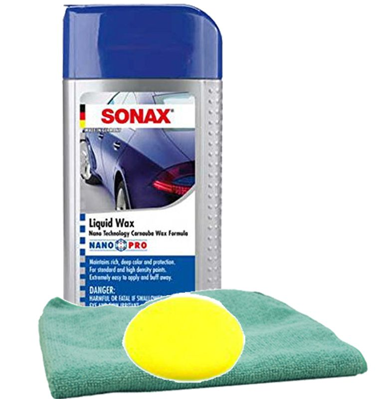 Sonax Application Sponge For Polishes /& Waxes
