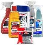Sonax Premium Car Wash, Wax & Tire Care Kit