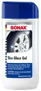 Sonax Revitalizing Tire Gloss Gel (16.9 oz)