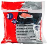 Sonax Ultrafine Microfiber Towels (3 Pack)