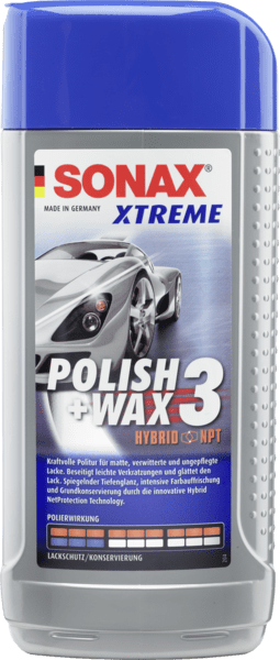 Sonax Xtreme Hybrid NanoTechnology Liquid Wax (500 ml)