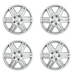 """Spider 16"""" Chrome Plated Wheel Covers (Set of 4)"""
