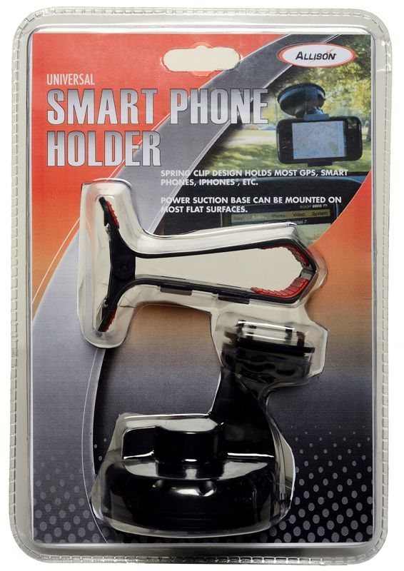 spring loaded smartphone  u0026 gps holder