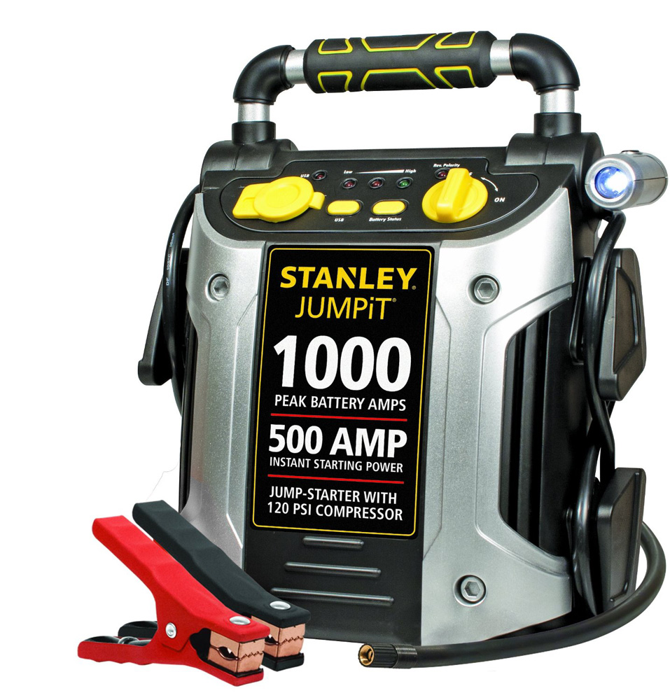Stanley 500 Peak Amp Jump Starter with